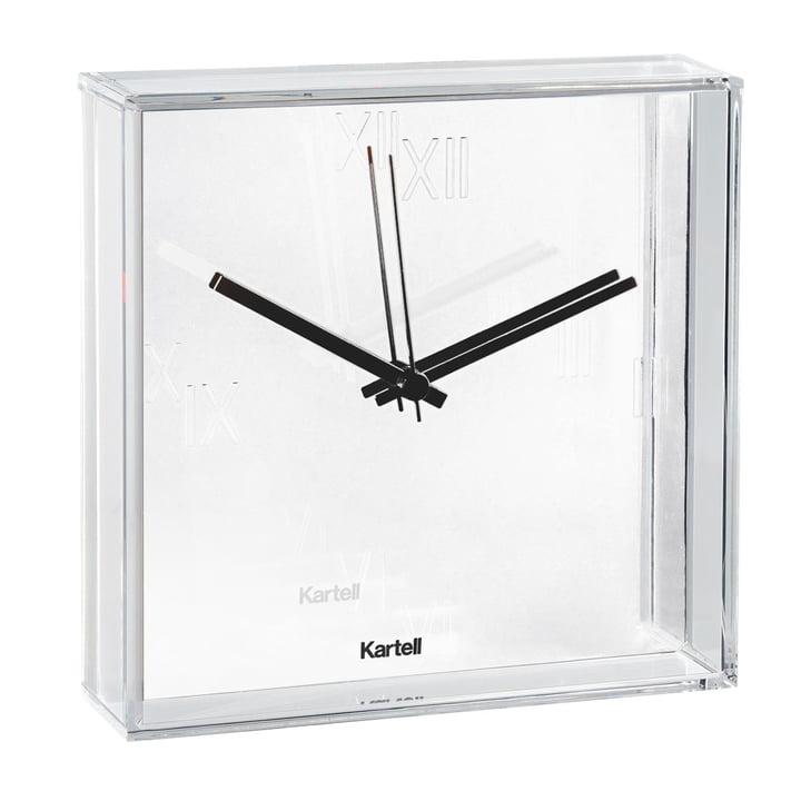 Kartell - Horloge murale Tic & Tac, blanc