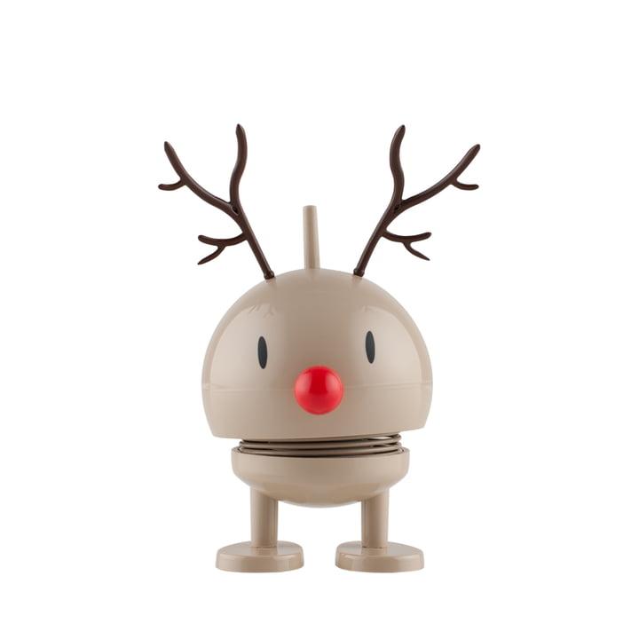 Hoptimist - Bébé renne Bumble Rudolf court