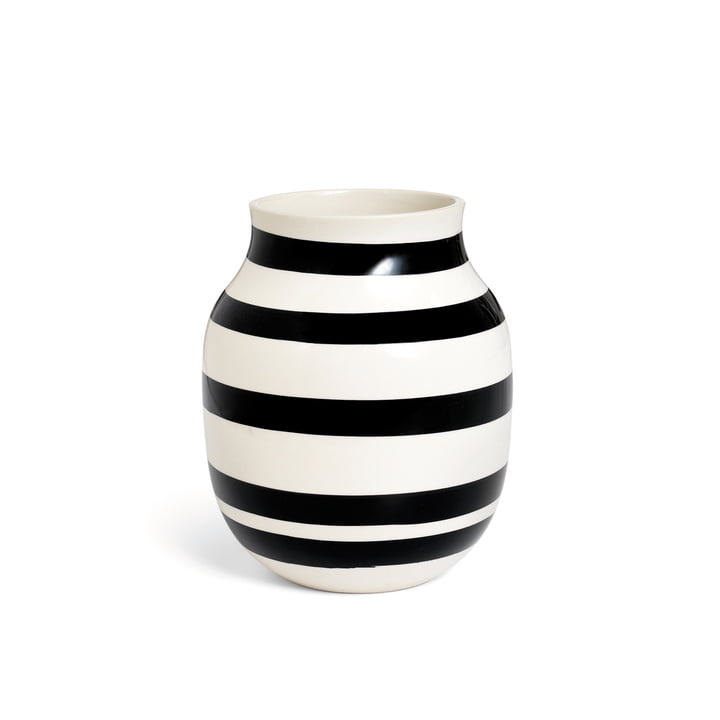 Kähler Design - Vase Omaggio H 200, noir