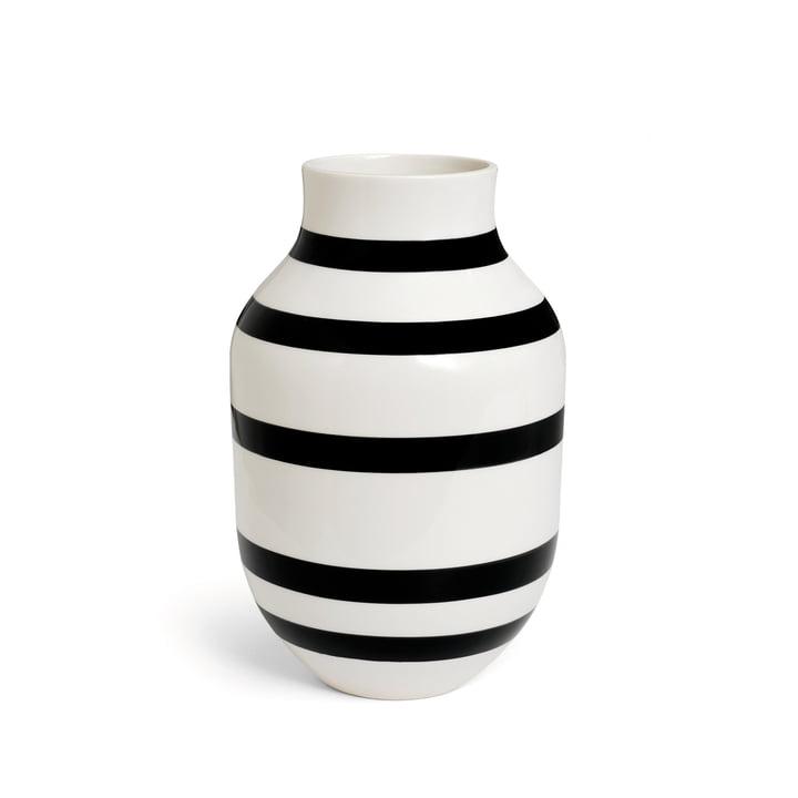 Kähler Design - Vase Omaggio H 305 en noir