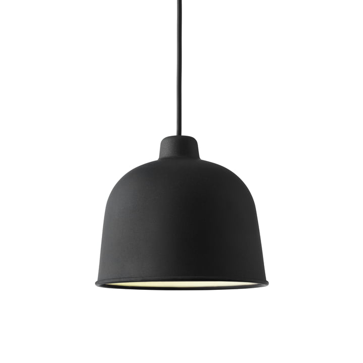 Muuto - Grain suspension lumineuse, noir