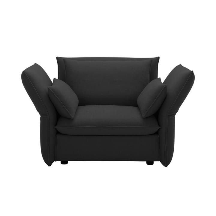 Mariposa Love Seat par Vitra en Laser gris foncé