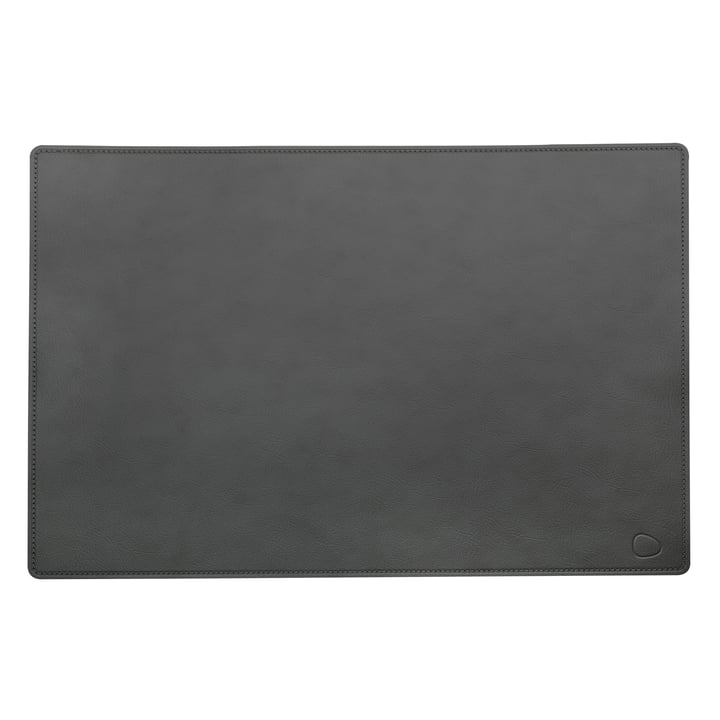 Sous-main Work Mat Square XXL 54 x 74 cm en cuir Cloud en anthracite