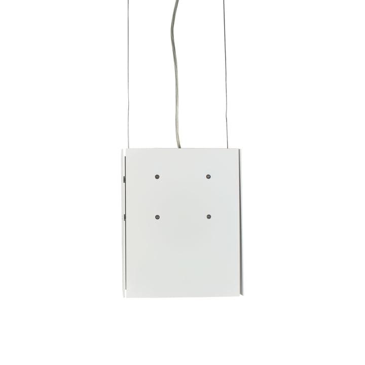 Dark - Suspension lumineuse Bridge Two, métal blanc mat