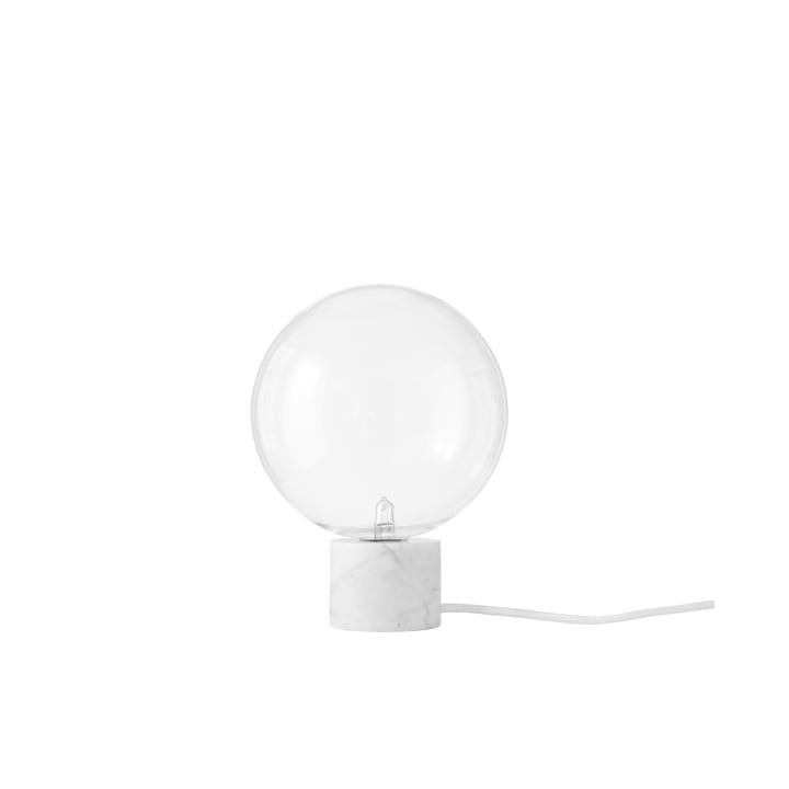 Marble Light SV6 lampe de table par &Tradition en blanc