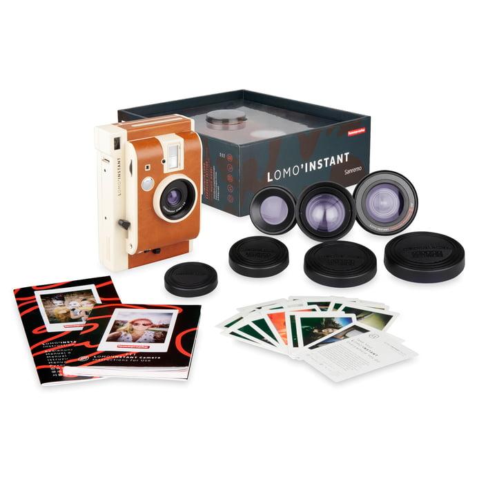 Lomo 'Instant Camera Lens Kit de Lomography en version San Remo