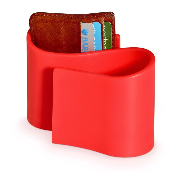 Rangement Snug Tidy de j-me en rouge