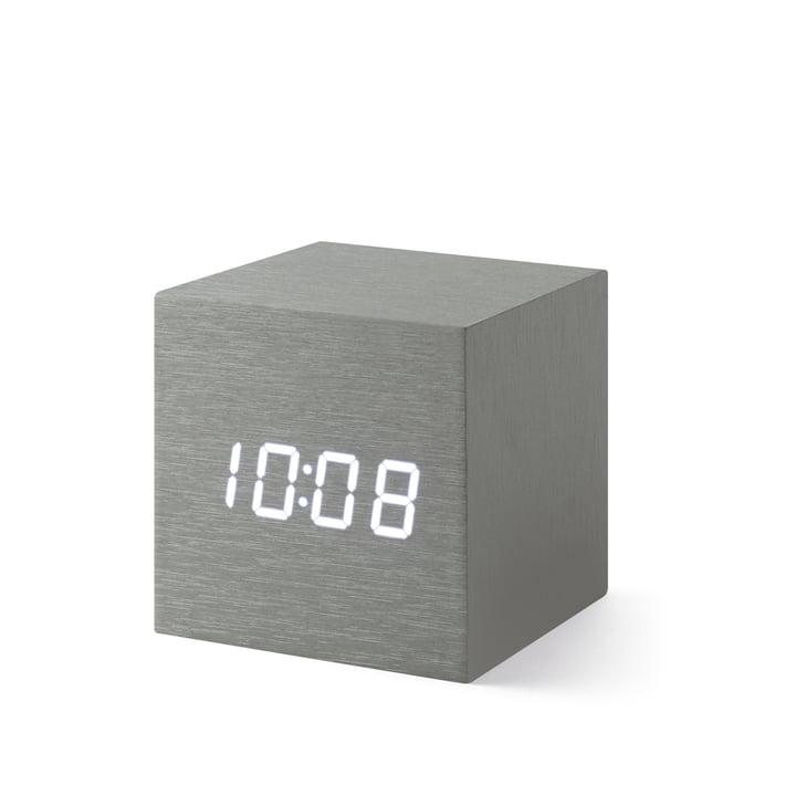 Alume Cube Clock avec affichage LED de MoMA Collection