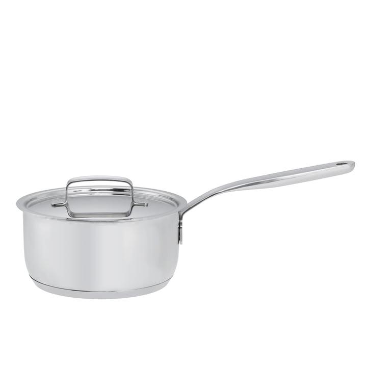 Fiskars - Casserole à manche All Steel avec couvercle, 1,5l / Ø 16cm