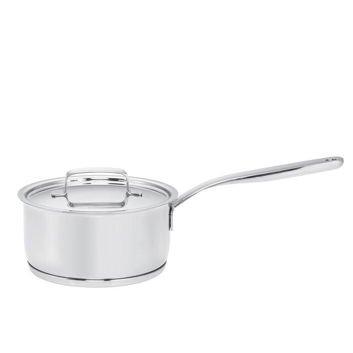 Fiskars - Casserole à manche All Steel + avec couvercle, 1,5l / Ø 16cm