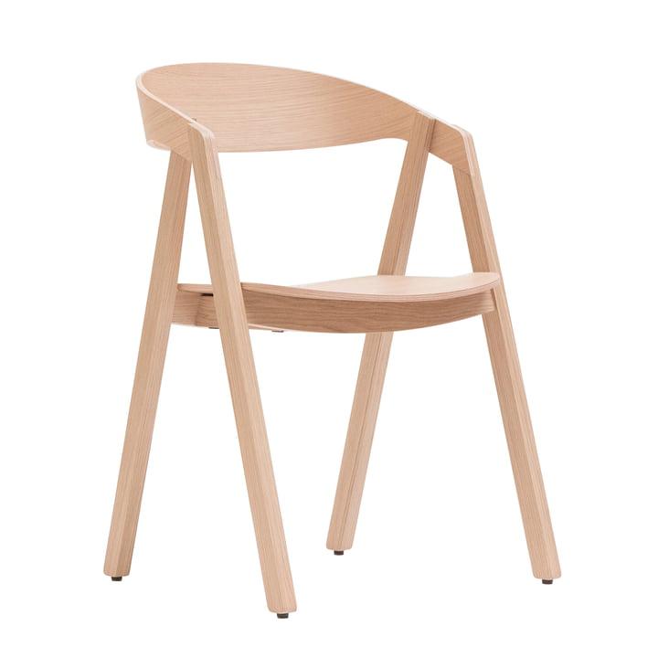Maigrau - Chaise NARDO, chêne naturel, verni transparent