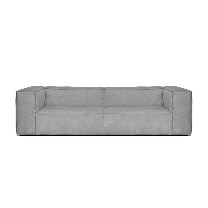 Foin - Canapé Mags Soft 2,5 places, Combinaison 1, gris clair (Hallingdal 130) / Coutures : gris foncé