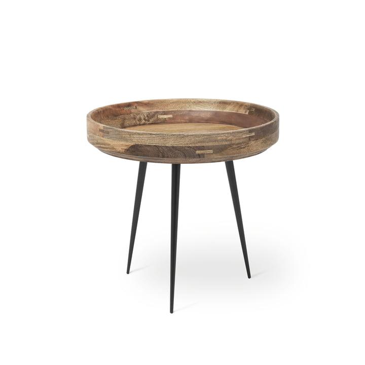 Table Bowl en petit format de Mater en manguier naturel