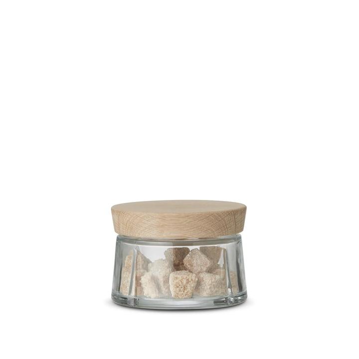 Rosendahl - Grand Cru bocaux en verre avec couvercle en chêne, 0,25 litre