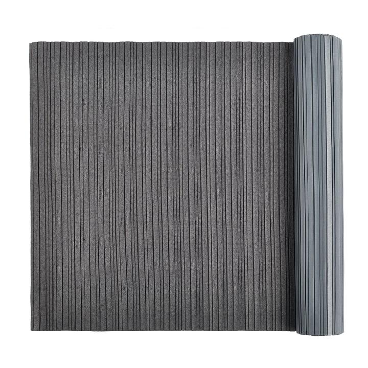 Iittala X Issey Miyake - Chemin de table 2 m plissé, gris foncé