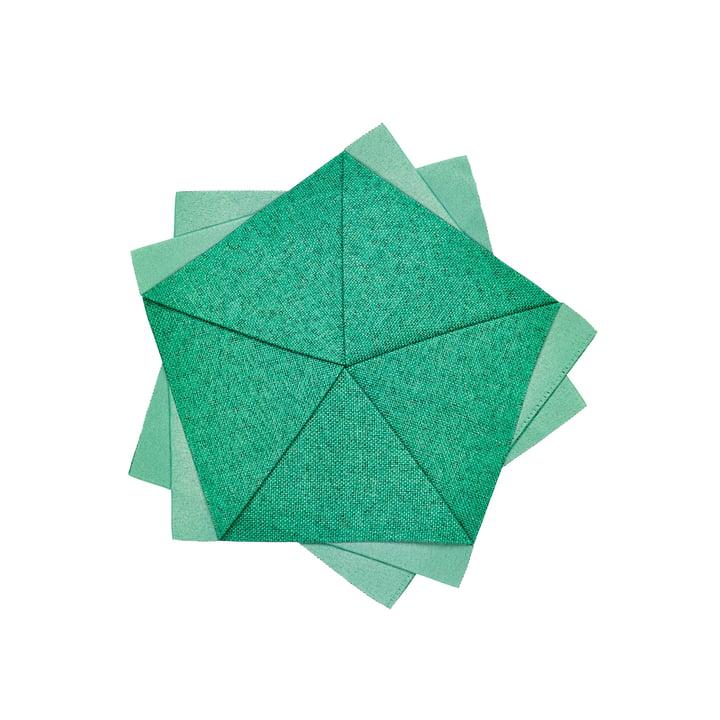 Iittala X Issey Miyake - Table Flower Ø 20 cm, vert émeraude