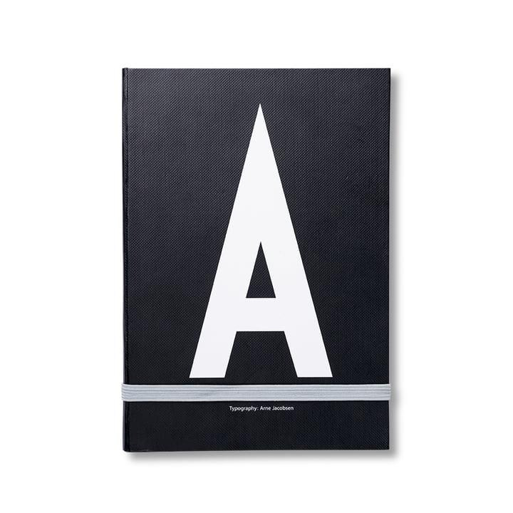 Design Letters - Cahier personnel de A à Z, A