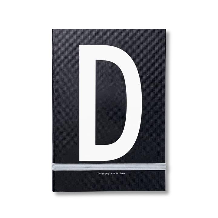 Design Letters - Cahier personnel de A à Z, D