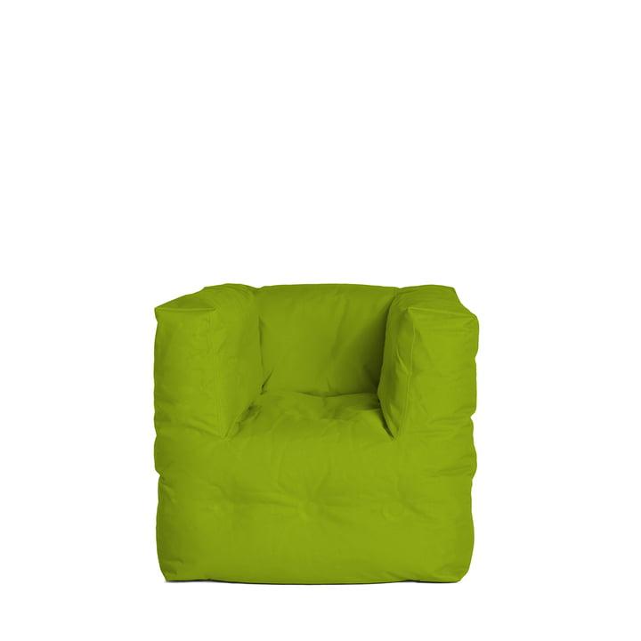 Fauteuil Couch I de Sitting Bull en vert