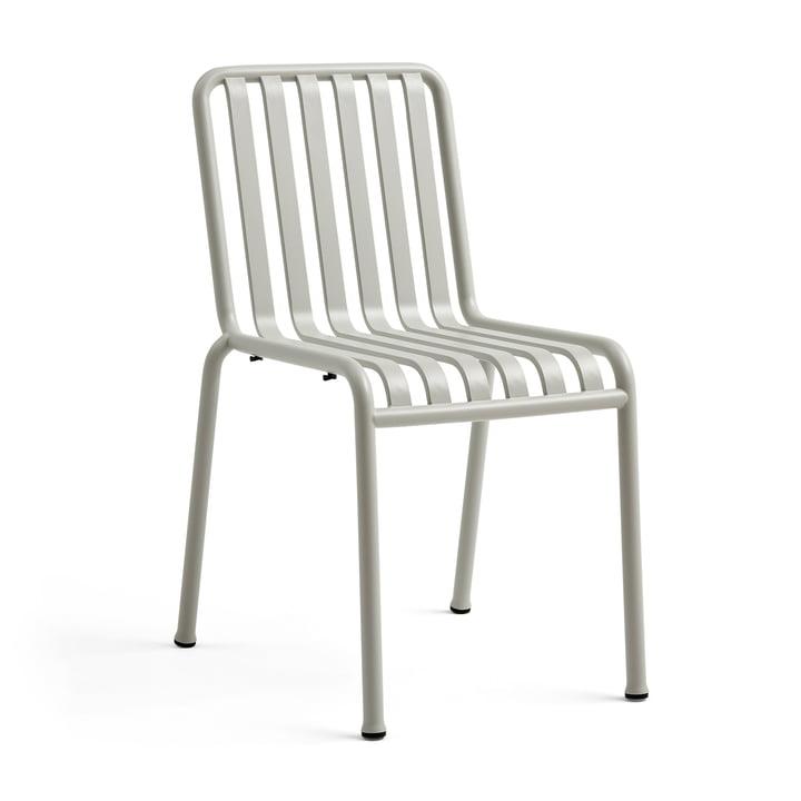 La chaise Palissade de Hay en gris clair