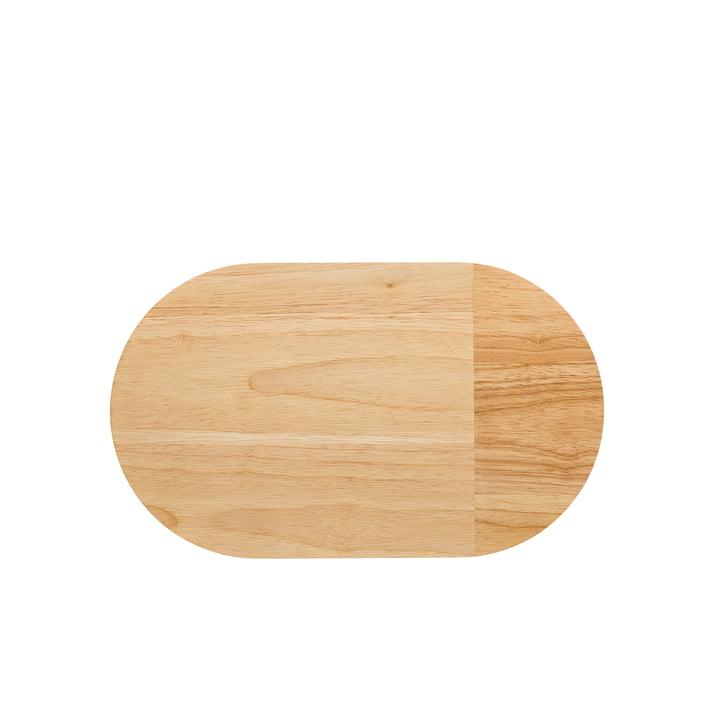Le plateau en bois Ono de Thomas d'une longueur de 38cm