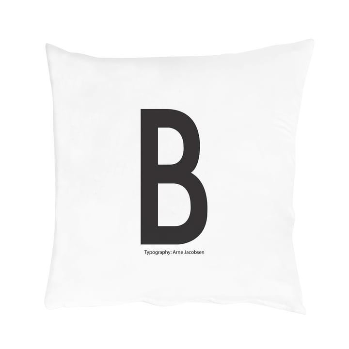 Design Letters - Housse de coussin de A-Z, B