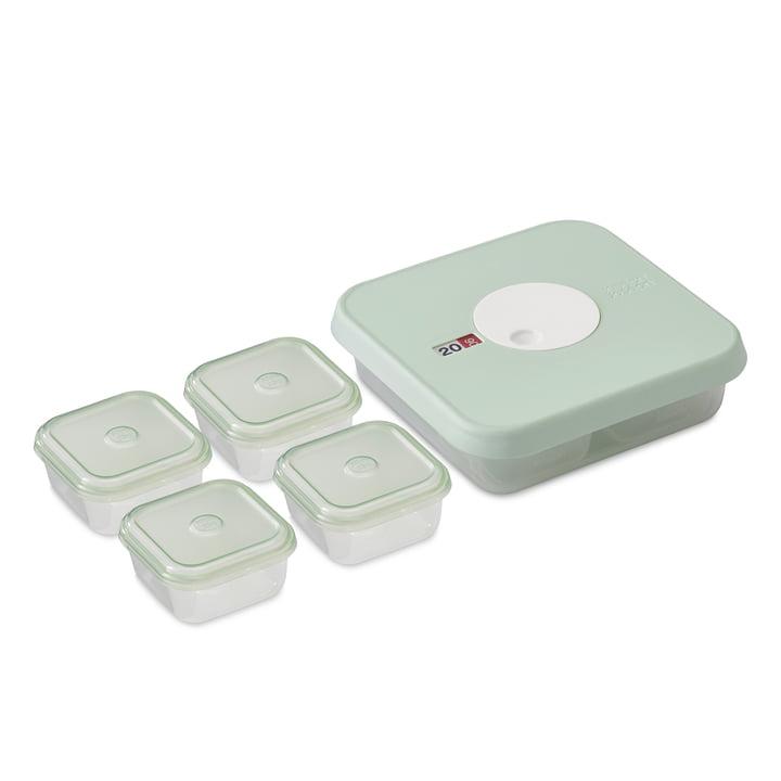 Lot de 5 boîtes de conservation Dial Baby taille 2 (8-12 mois) de Joseph Joseph