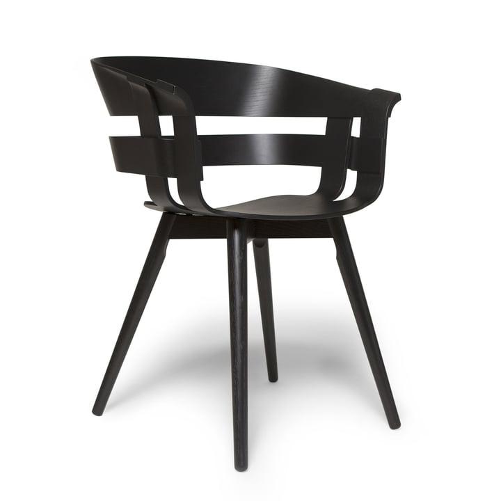 La chaise en bois Wick en noir par design House Stockholm