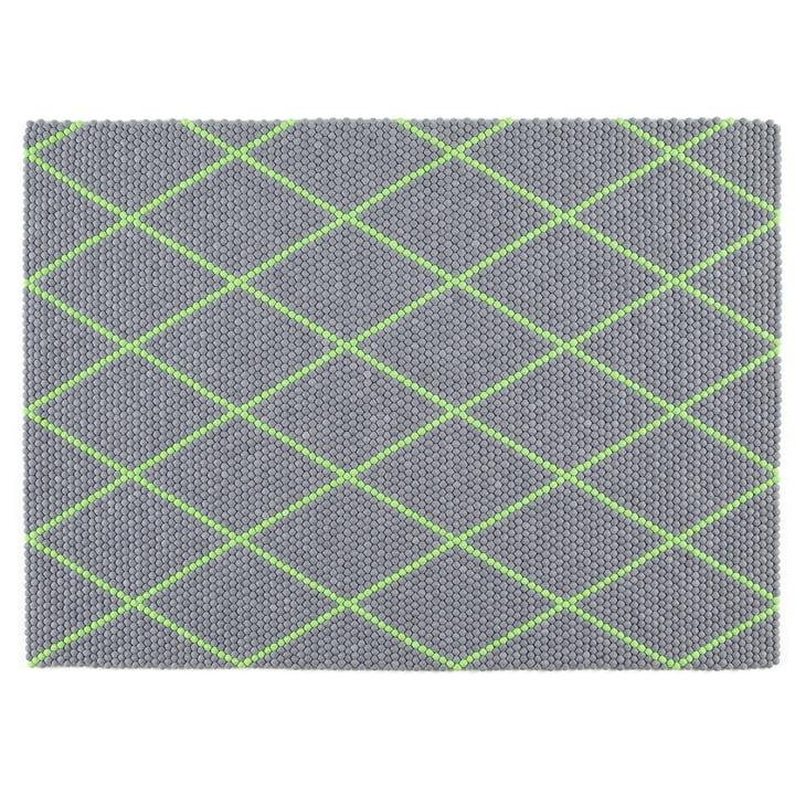 Hay - S&B Dot Carpet, 150 x 200cm, Electric Green