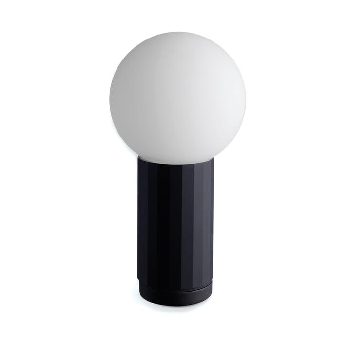 La lampe de table Turn On de Hay en noir