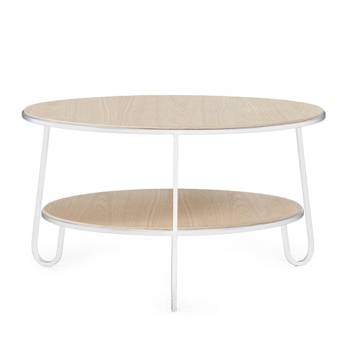 Table basse Eugénie de Hartô en blanc (RAL 9016)