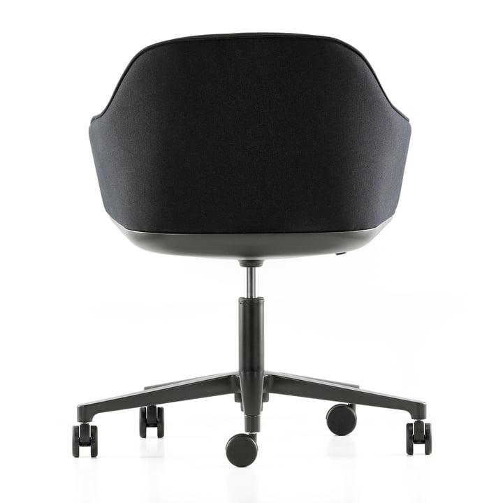 Softshell Chair avec piètement à cinq bras par Vitra
