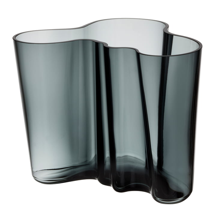 Iittala - Vase Aalto Savoy, gris foncé 160 mm