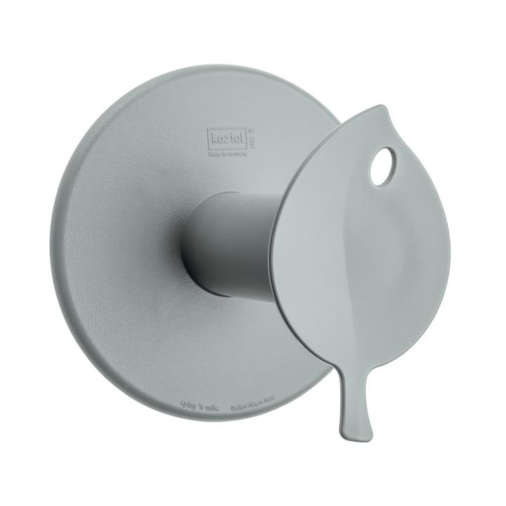 Dérouleur de papier toilette Sense de Koziol en gris