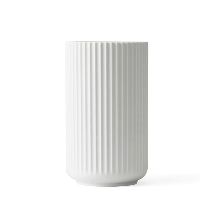 Lyngbyvase H 15,5 cm du Lyngby Porcelæn blanc