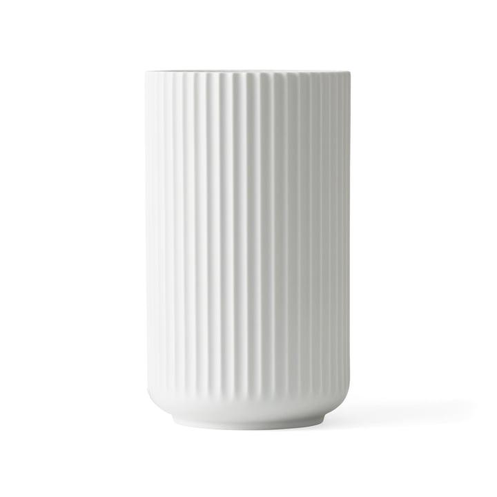 Lyngbyvase H 20,5 cm du Lyngby Porcelæn blanc