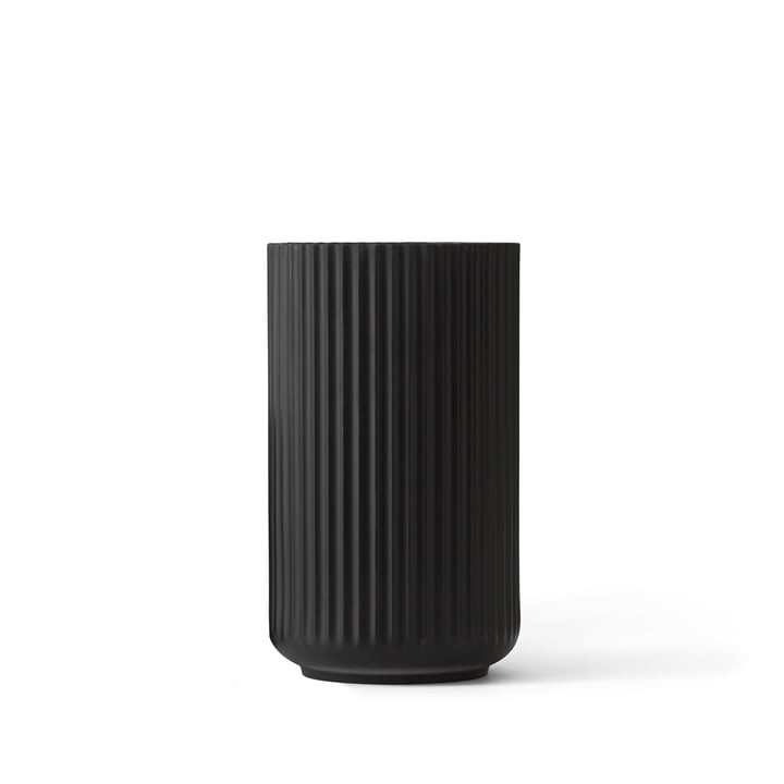 Lyngby Porcelæn - Lyngbyvase, noir, H12cm