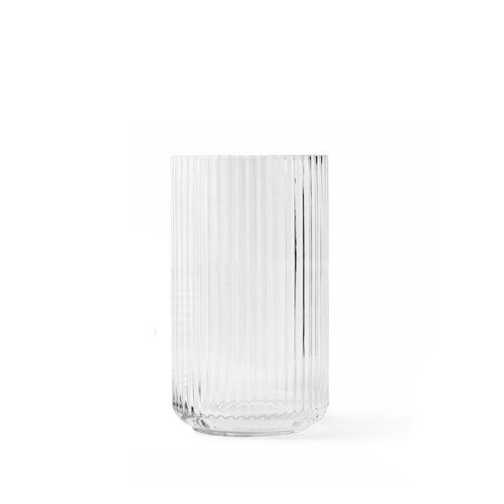 Vase en verre H 12,5 cm de Lyngby Porcelæn en transparent