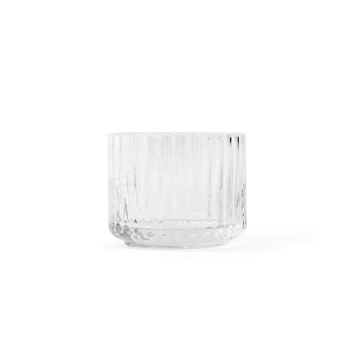 Photophore pour bougies chauffe-plat, transparent, ø 6,7 cm de Lyngby Porcelæn