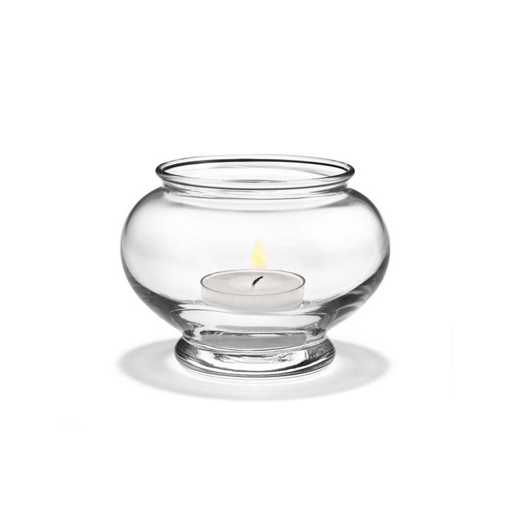 Photophore pour bougies chauffe-plat Old English de Holmegaard