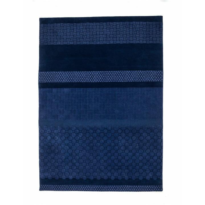 Nanimarquina - tapis Jie 200 x 300 cm, bleu