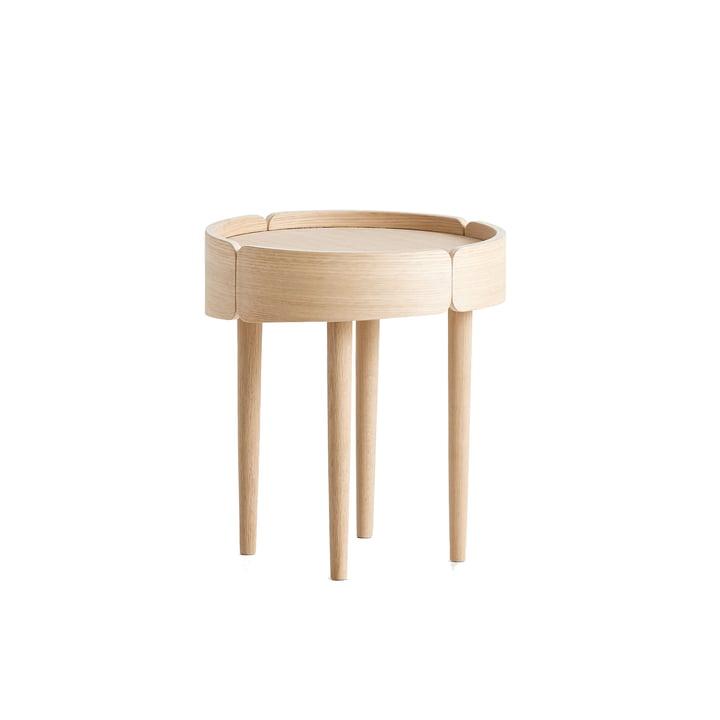 Woud - Skirt Coffee Table Ø 40 cm de Woud en chêne