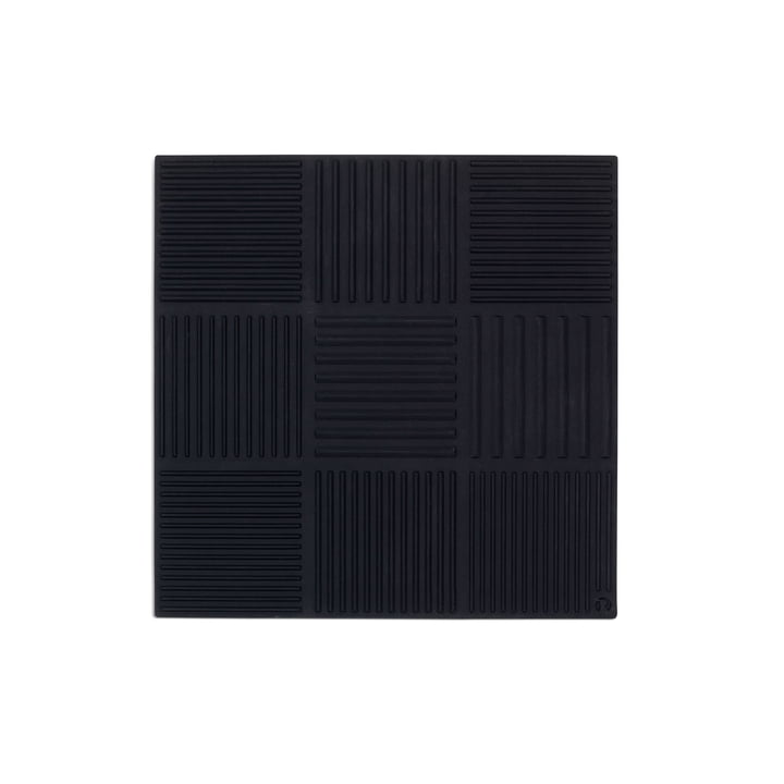 Dessous de plat Nanna Ditzel 18x18cm de Rosendahl en noir