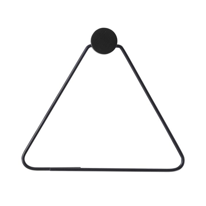 Porte-papier hygiénique de Ferm Living in black