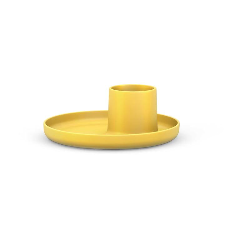 O-Tidy de Michel Charlot pour Vitra en jaune