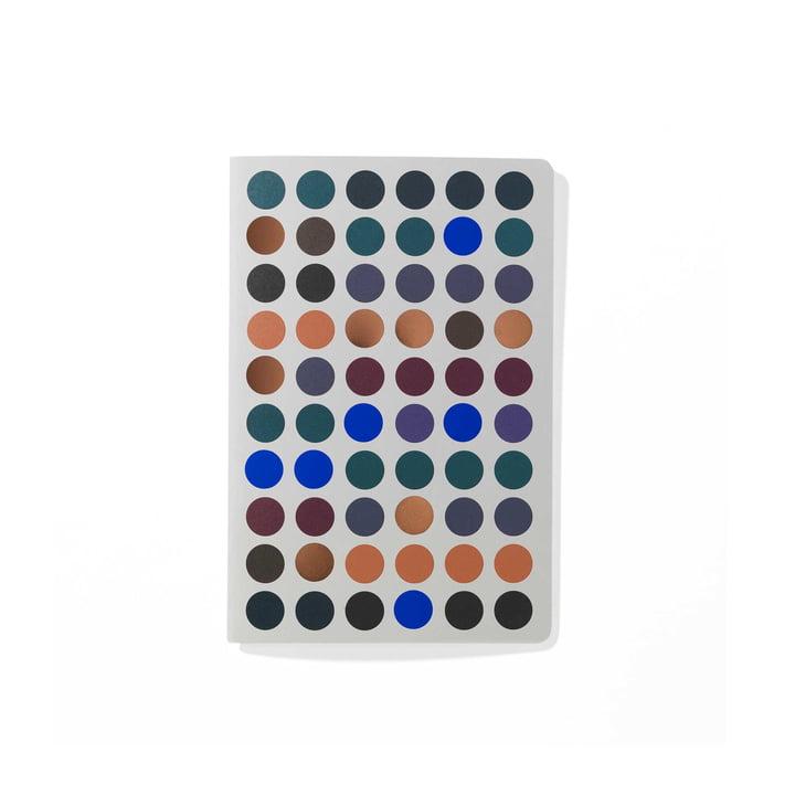 Dot Notebook A6 de Vitra dans des tons foncés
