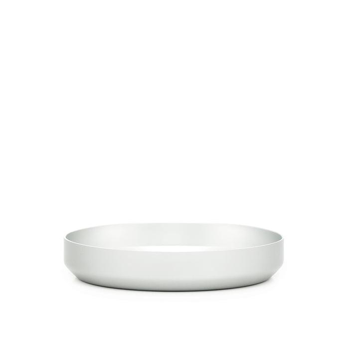 Normann Copenhagen - Coupelle Meta Ø 16cm, plate, argenté