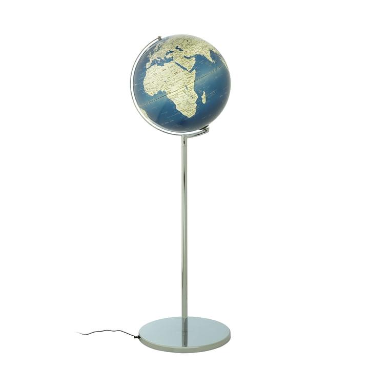 Globe sur pied Sojus d'emform en bleu