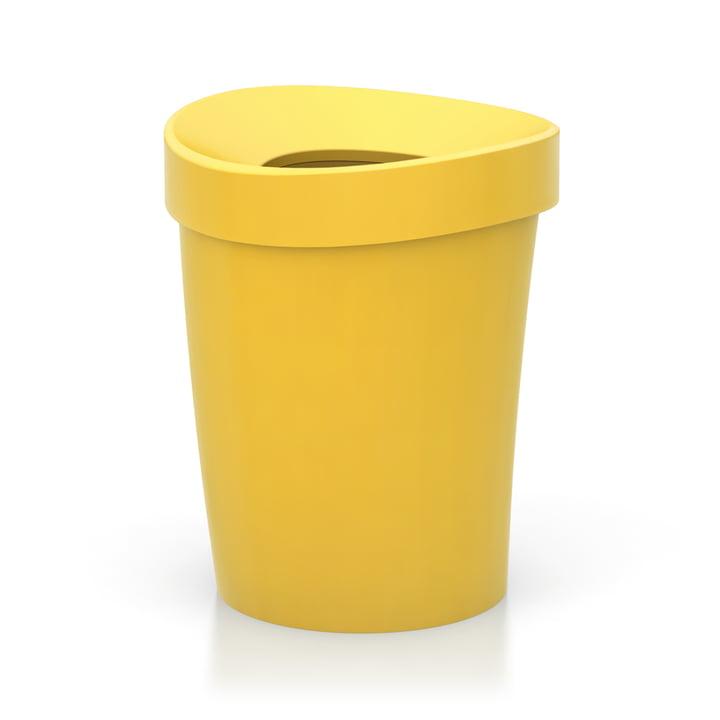 Grande corbeille à papier Happy Bin de Vitra en jaune