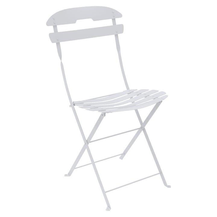 La chaise La Môme par Fermob en blanc coton